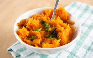 Irresistible Mashed Sweet Potatoes