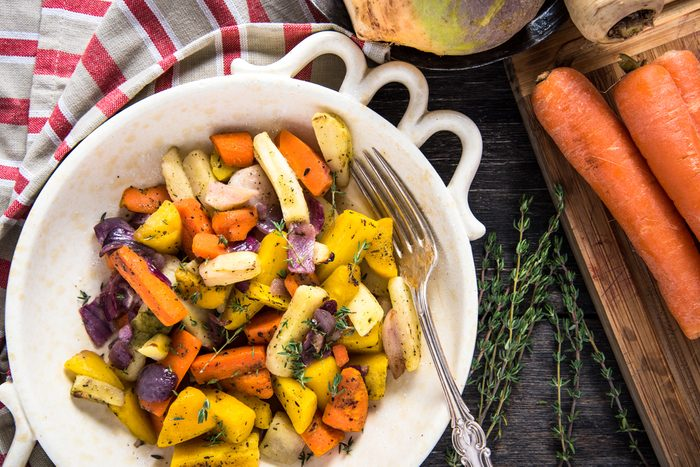 healthy thanksgiving recipes | Roasted Root Vegetables Recipe