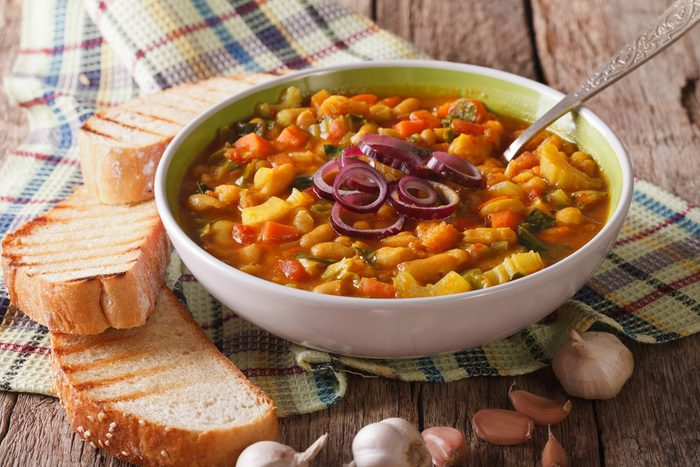 mediterranean roasted vegetable soup