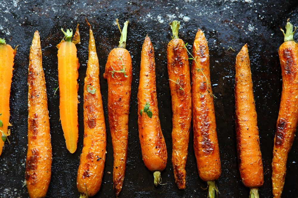 healthy thanksgiving recipes | Roasted Carrots recipe