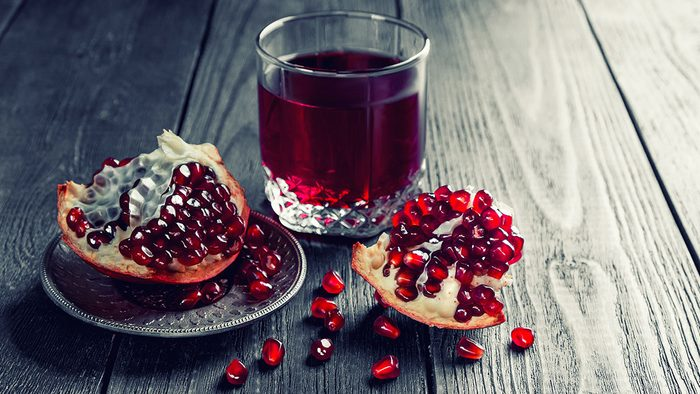 Healthy Foods, pomegranate juice