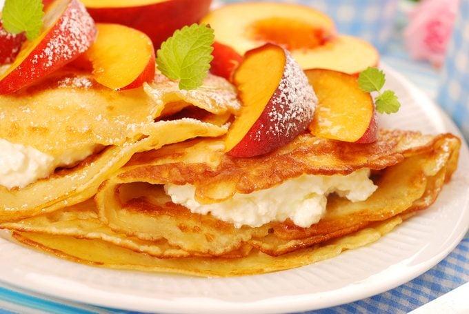 best healthy peach recipes