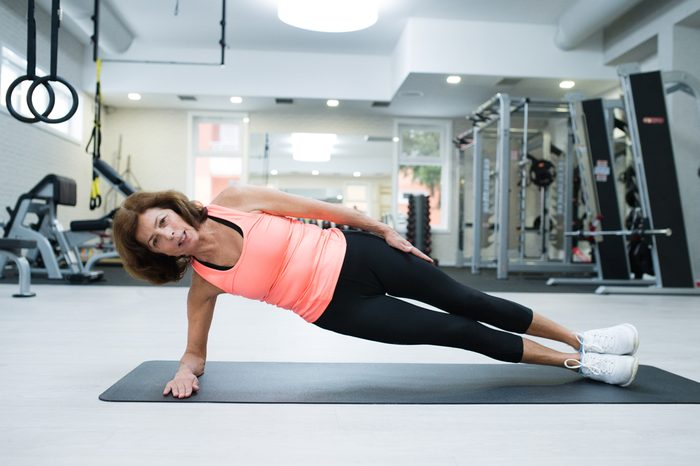stay strong as you age_woman doing side plank