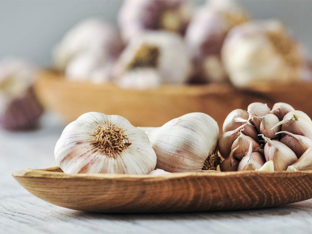Flu Symptoms, garlic