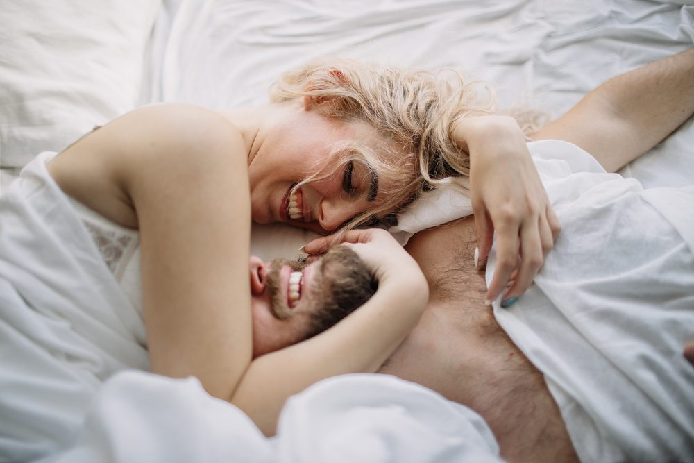 have better sex | happy couple in bed_have hot sex again