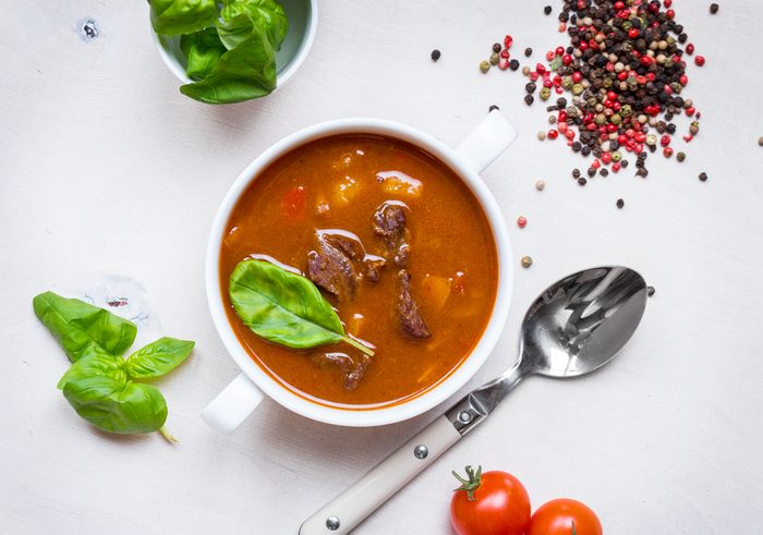 Recipe: Beef and Pepper Soup