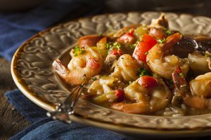 Creole-Style Chicken and Shrimp Gumbo