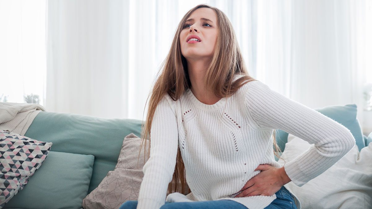 Food Cravings Meaning, woman on her period
