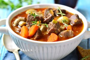 Lamb, Vegetable & Beer Stew