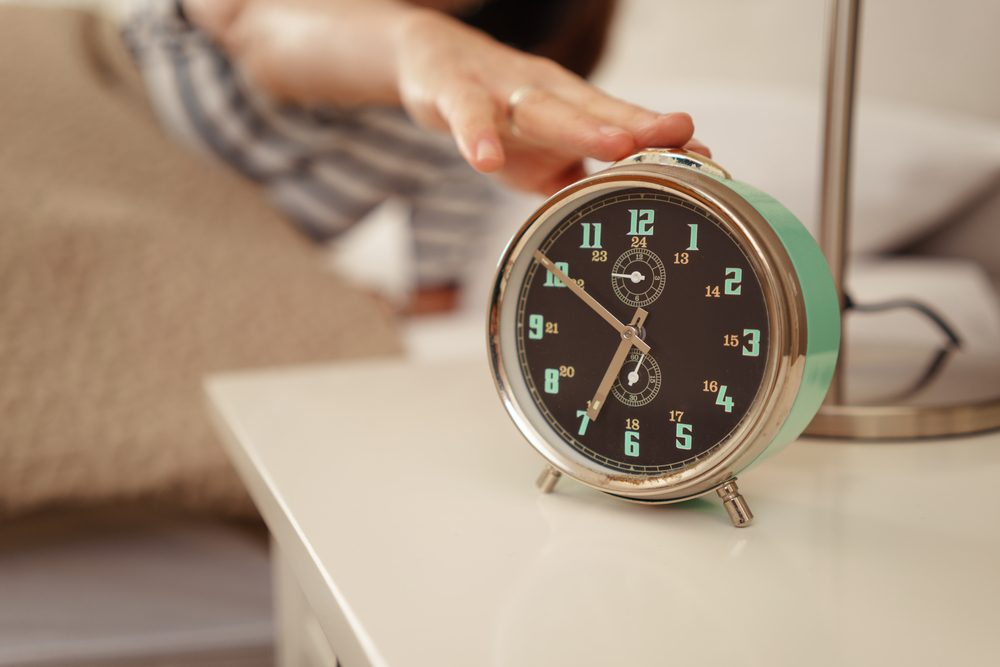how to get more energy alarm clock