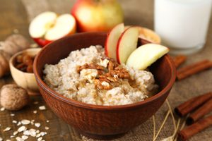 Pumpkin and Apple Oatmeal