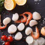 Scallops, Shrimp & Melon Salad