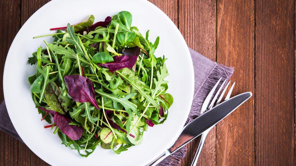flat tummy foods greens