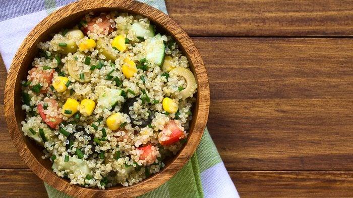 flat tummy foods quinoa