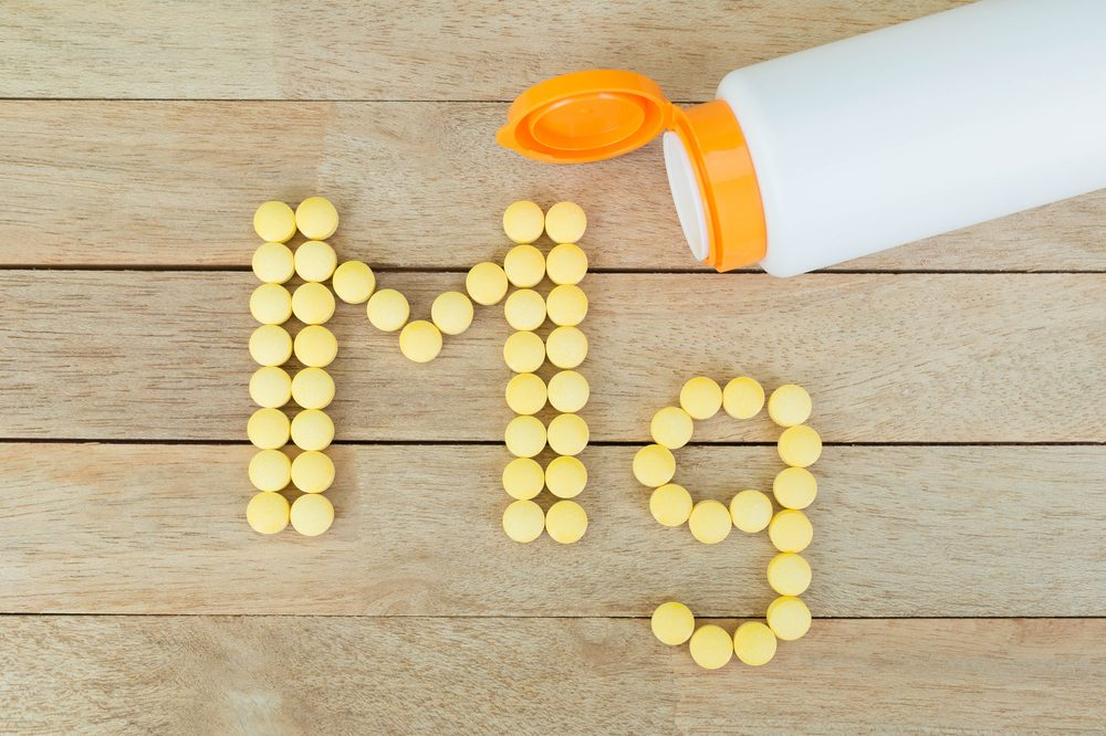 magnesium pills__ nutrients for anxiety