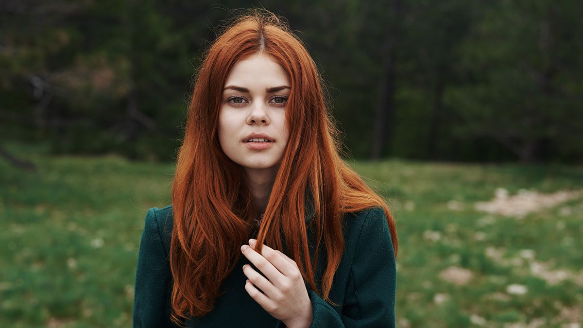 Treatment for Female Hair Loss, red hair