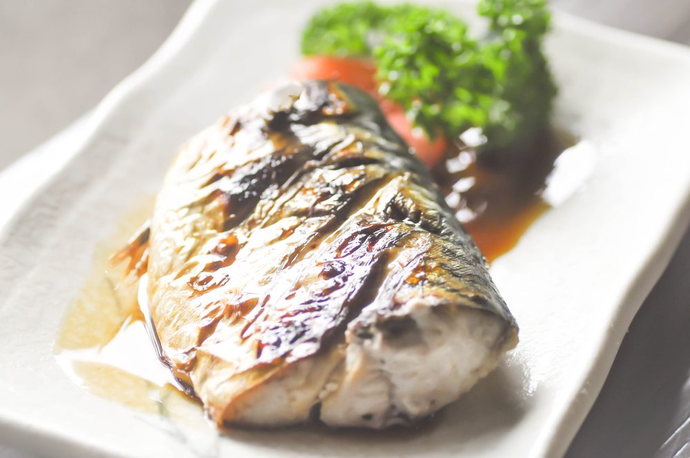 grilled fish _Eat for glowing skin