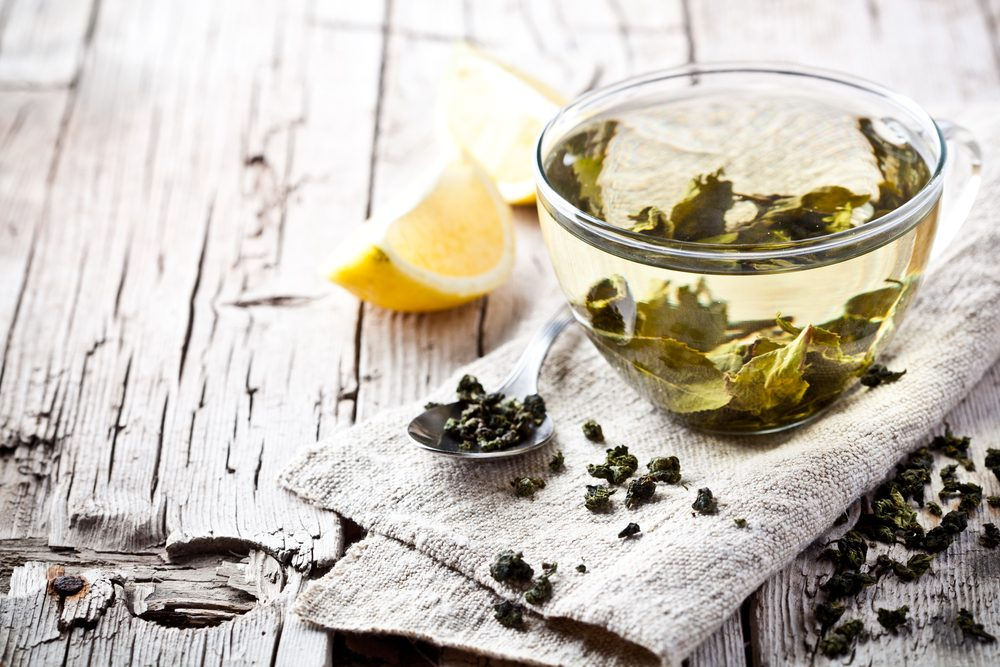 burn belly fat_ green tea