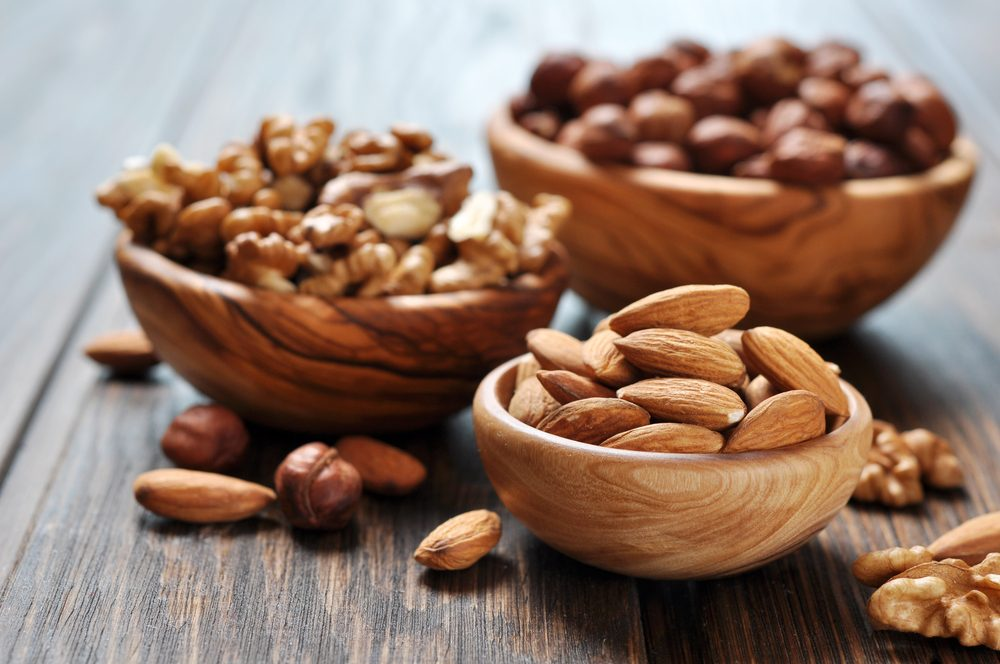 burn belly fat_ almonds