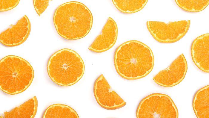Foods High In Vitamin C, orange slices