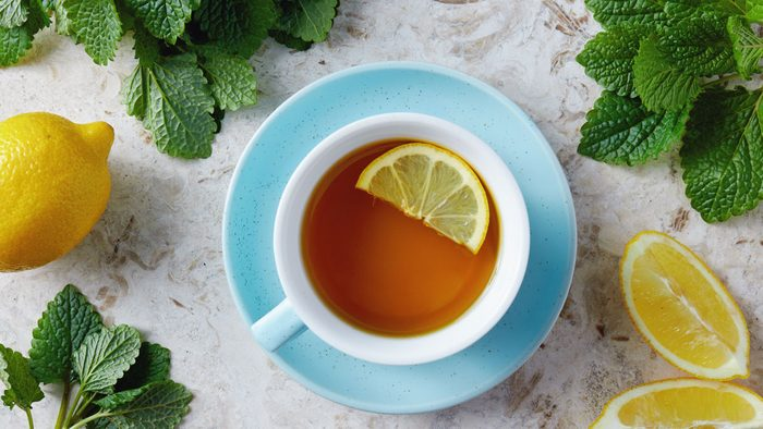 health benefits of herbal tea lemon balm