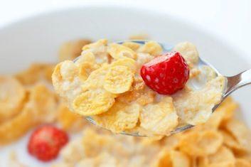 strawberry cereal