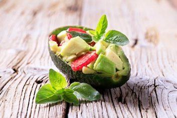 strawberry avocado guacamole