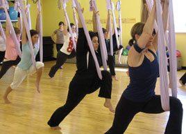 The Benefits of AntiGravity Yoga
