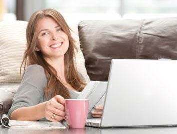 blog computer mom daughter