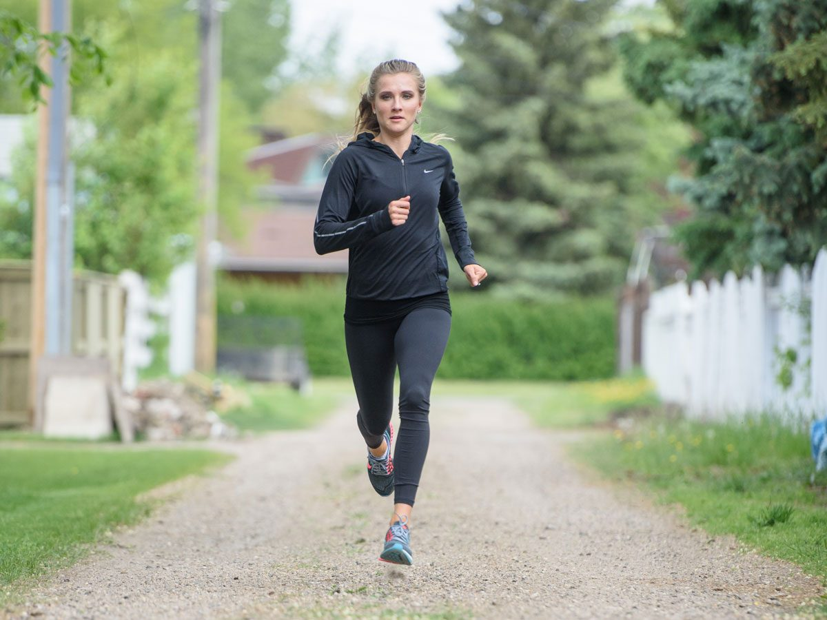 Heptathlete Brianne Theisen-Eaton: In Her Prime and Training for Rio