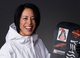 Olympian to watch: Snowboarder Alexa Loo