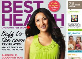 Video: Best Health's cover shoot with Tanya Kim