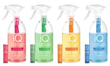 IQ glass cleaner