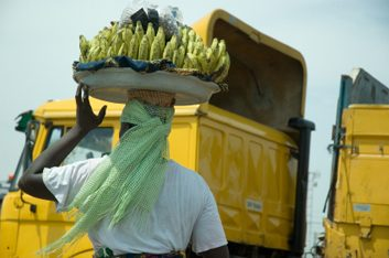 Ghana bananas