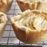 Glazed Apple-Ricotta Tarts