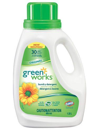 Green works laundry detergent