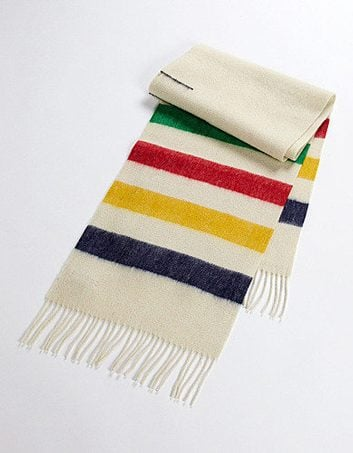 HBC Woven Wool Scarf
