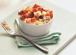 Tuna and corn pots