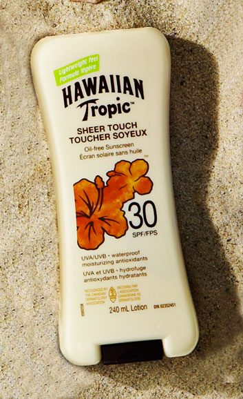 Hawaiian Tropic Sheer Touch Oil-Free Sunscreen SPF 30