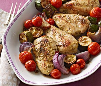 Herb Baked Chicken & Vegetables