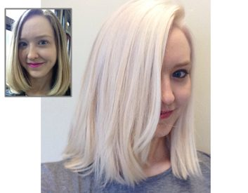 Jen's Hair Before & After