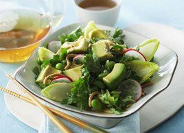 Avocado, Edamame and Radish Salad