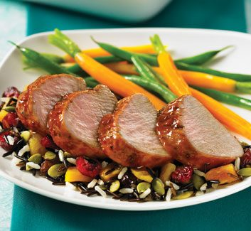 maple glaze pork