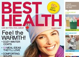 What's online from Best Health's November 2010 issue