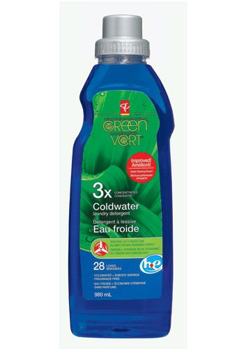 PC coldwater laundry detergent