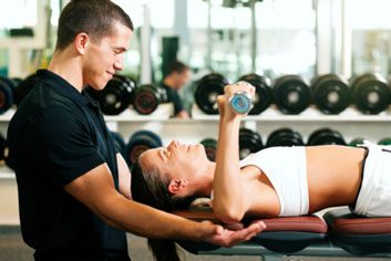personal trainer gym fitness