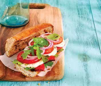 Caprese Salad Baguettes