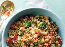 Kitchen Sink Quinoa Salad