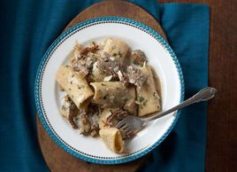 Beef Tenderloin and Rosemary Rigatoni