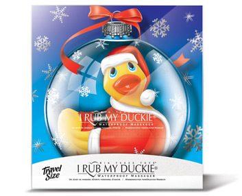 5. I Rub My Duckie ornament